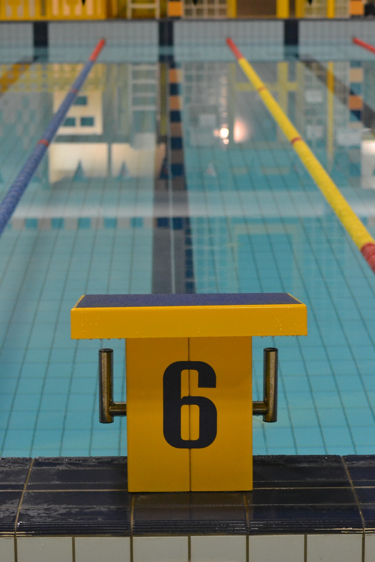 Types of training: Swimming
