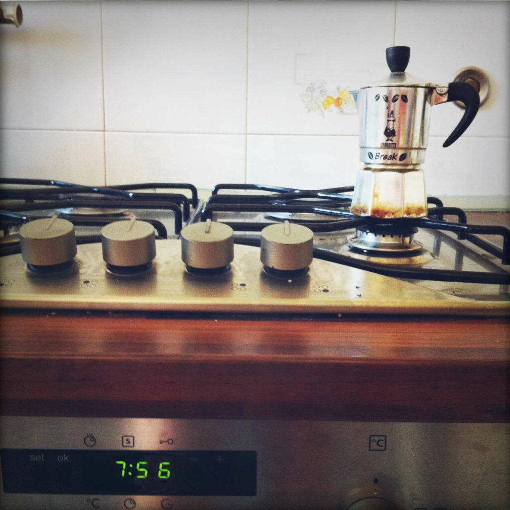italian kitchen coffee